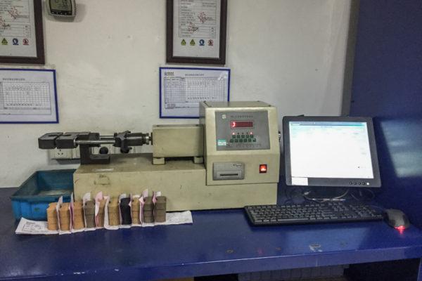 Sand strength testing machine