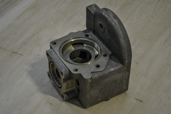 Service air brake valve body