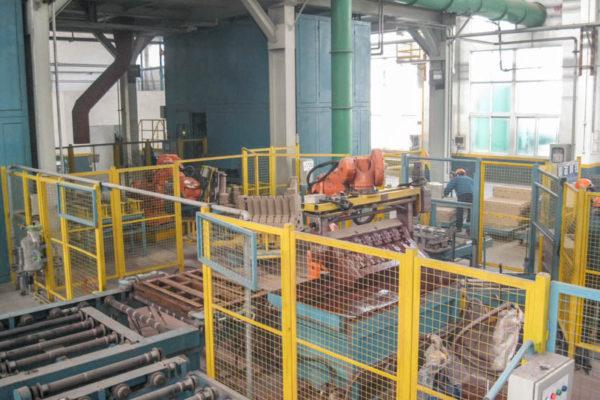 Cast Iron Truck engine block core center