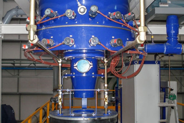 Fluid Bed Sand Heater -2