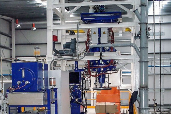 Sand Preparation Plant with Sand Heating Unit